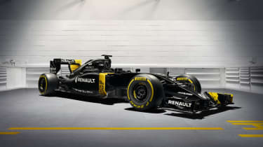 RenaultSport F1 2016 RE16 car front quarter