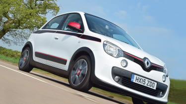 Renault Twingo - front tracking