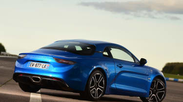 Alpine A110 - rear