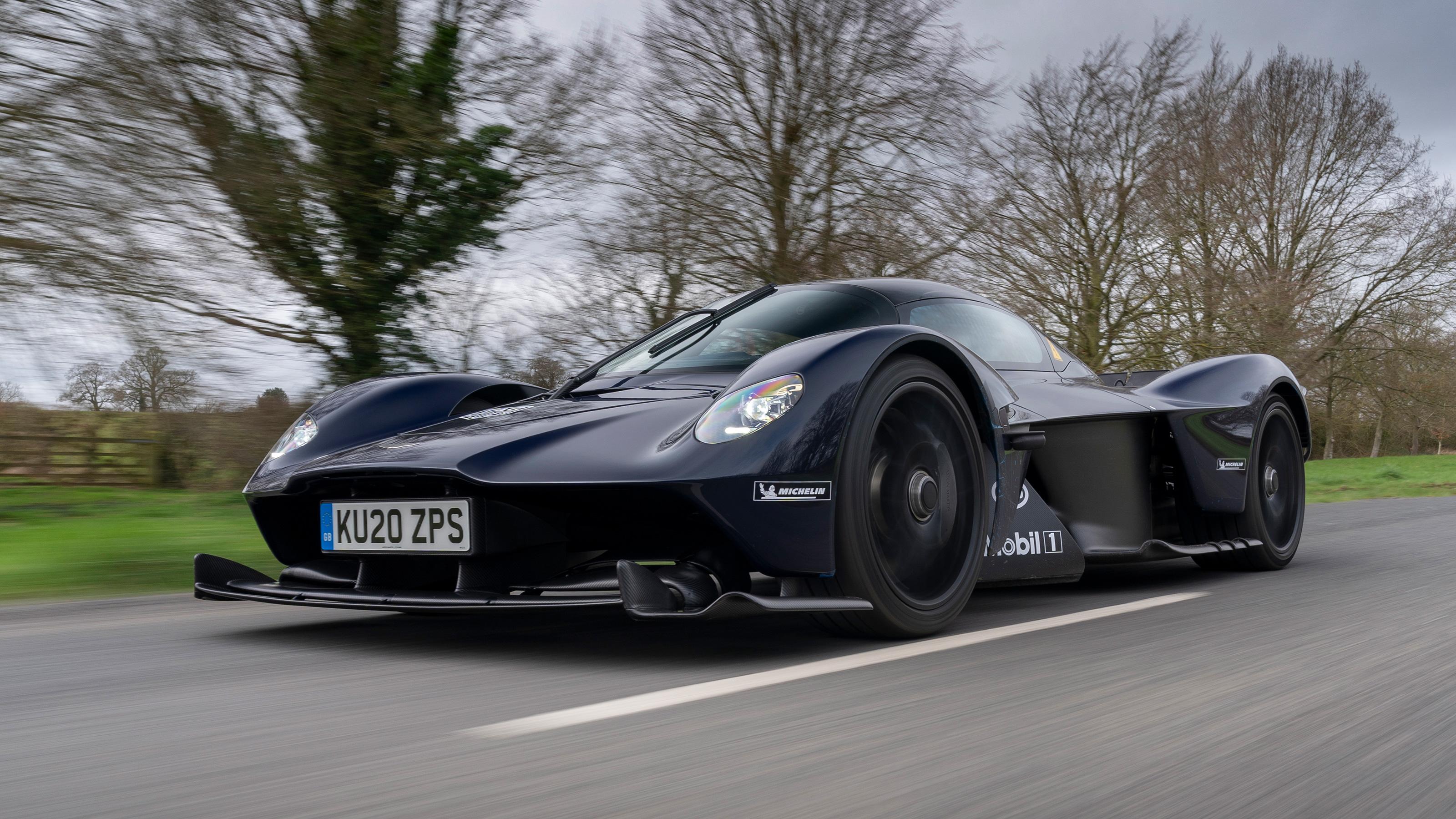 Aston Martin Valkyrie Hits The Road Auto Express