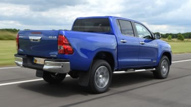 Used Toyota Hilux - rear action