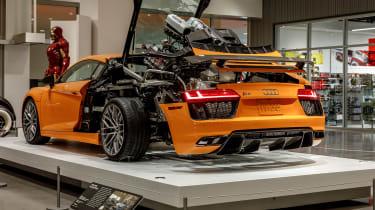 Petersen Automotive Museum - Audi R8 exploded rear