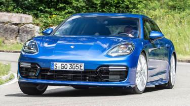 Porsche Panamera Sport Turismo 2017 review - front