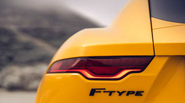 2020 Jaguar F-Type - rear light
