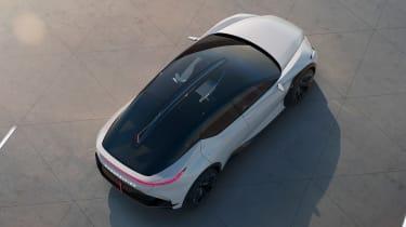 Lexus LF-Z Electrified concept - rear above