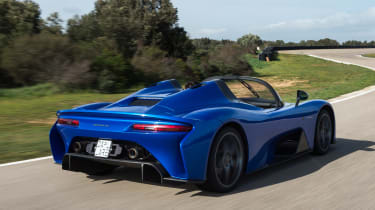 Dallara Stradale - rear