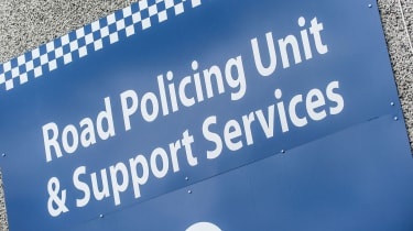 Police Scotland Road Policing unit & Support Services poster