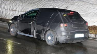 Seat Ibiza 2017 spies side rear