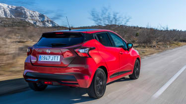 Nissan Micra 2017 petrol - rear tracking