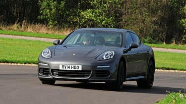 Used Porsche Panamera - front cornering