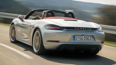 Porsche Boxster 25 Years - rear