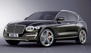 Baby Bentley SUV rendering