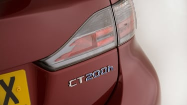 Used Lexus CT 200h - rear badge