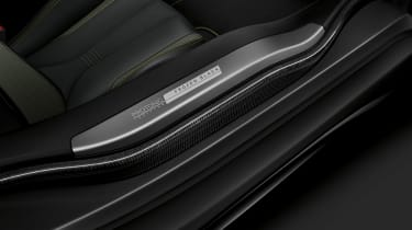 bmw i8 protonic frozen black sill and seat