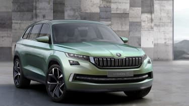 Skoda Vision S Concept official - front