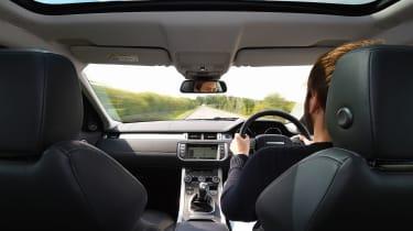 Range Rover Evoque SE Tech 2016 - cabin