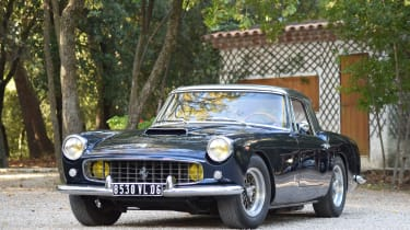 1960 Ferrari 250 GT Cabrio - most expensive cars