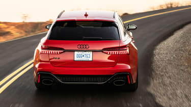 Audi RS 6 Avant - full rear