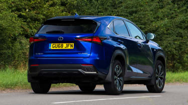 Lexus NX - rear action