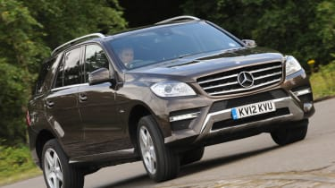 Mercedes ML 250 Bluetec Sport front