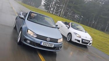 New VW Eos vs Megane CC header