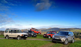 New Land Rover Discovery 5 vs 4, 3, 2 and 1 - header