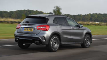 Mercedes GLA - rear