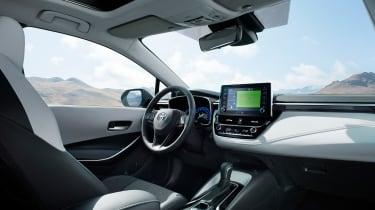 Toyota Corolla Touring Sports estate – interior