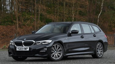 BMW 3 Series Touring - front static