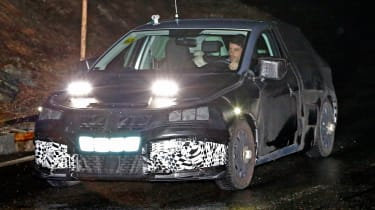 Seat Ibiza 2017 spies front