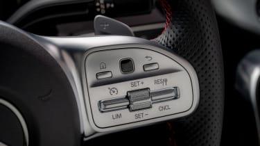 Mercedes A-Class - steering wheel detail