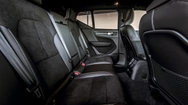 Volvo XC40 T5 Twin Engine - rear seats
