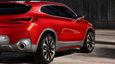 BMW X2 Concept - side detail