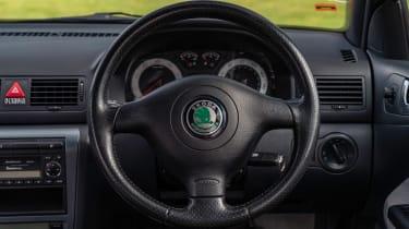 Skoda Octavia vRS Mk1 - steering wheel