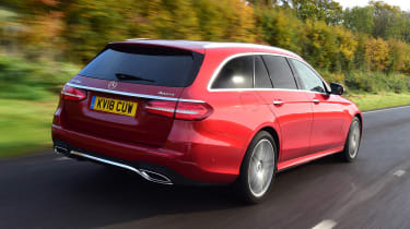 Mercedes E-Class Estate - rear