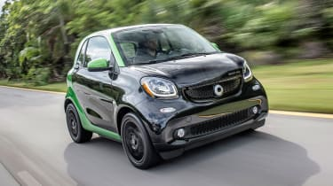 Smart ForTwo EV - front