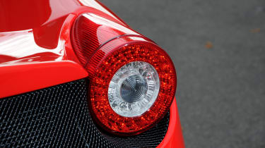 Ferrari 458 Speciale rear light