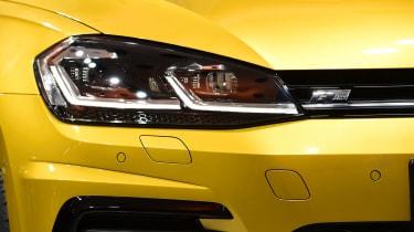 New 2017 Volkswagen Golf reveal - front light detail