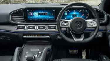 Mercedes GLE Coupe twin test - interior