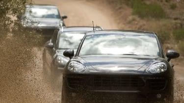 Porsche Macan mud