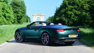 Bentley Continental GT Convertible - rear static