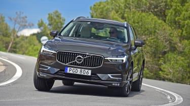 New Volvo XC60 - front cornering