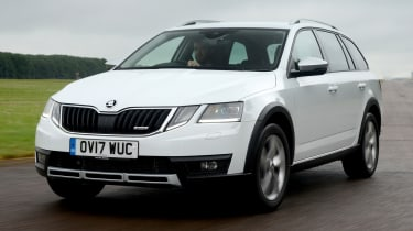 Skoda Octavia Scout review - front