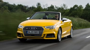Audi S3 Cabriolet 2016 - front tracking 2