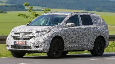 Honda CR-V - spy shots - front/side