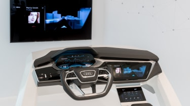 Audi Virtual Dashboard - demo model 1