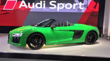 Audi R8 Spyder V10 Plus - Goodwood reveal side