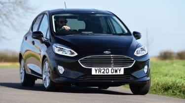 Ford Fiesta - cornering