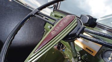Skoda Tudor 1101 VO - steering wheel