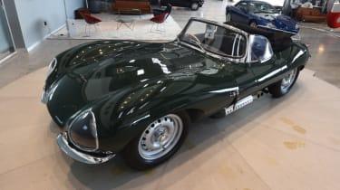 Jaguar XKSS continuation model front